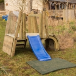 Playground Trim Trail Equipment in Anslow Gate 4