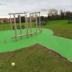 Playground Trim Trail Equipment in Acha M 6