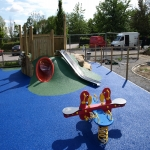 Playground Trim Trail Equipment in Austwick 1