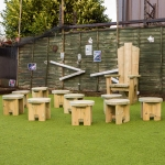 Schools Playground Furniture in Aberbeeg 8
