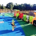 Playground Trim Trail Equipment in Austwick 12