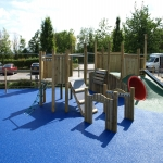 Playground Trim Trail Equipment in Aston Botterell 2