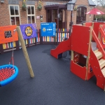Playground Trim Trail Equipment in Babbacombe 8