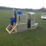 Playground Trim Trail Equipment in Abbots Bromley 5