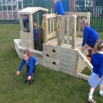 Playground Trim Trail Equipment in Austwick 8