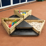 Playground Trim Trail Equipment in Abbots Bromley 12