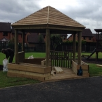 Playground Trim Trail Equipment in Abbots Bromley 2