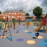 Playground Trim Trail Equipment in Aston Botterell 1