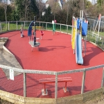 Playground Trim Trail Equipment in Anslow Gate 12