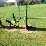 Playground Trim Trail Equipment in Andover 6