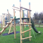 Playground Trim Trail Equipment in Austwick 9