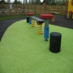 Playground Trim Trail Equipment in Achnacarnin 8