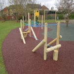 Playground Trim Trail Equipment in Austwick 2