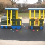 Playground Trim Trail Equipment in Acha M 8