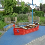 Playground Trim Trail Equipment in Aberdyfi 3