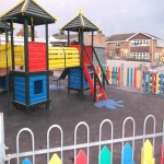 Playground Trim Trail Equipment in Asney 11