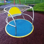 Playground Trim Trail Equipment in Asney 6
