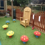 Playground Trim Trail Equipment in Aston Botterell 11