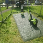 Playground Trim Trail Equipment in Aberdyfi 8
