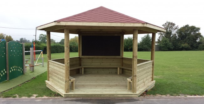 Schools Outdoor Timber Classrooms in Abbas Combe