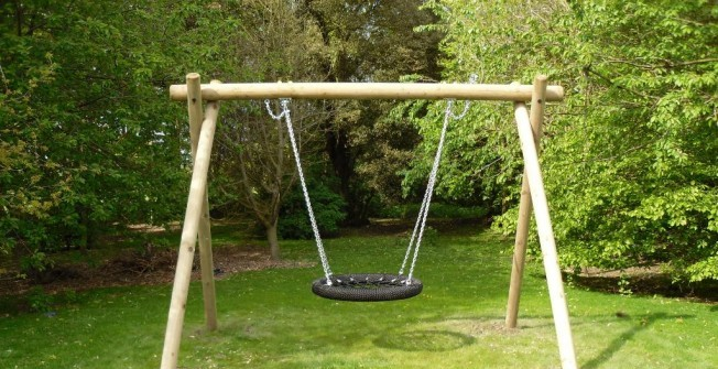 Playground Basket Swing in Tyne and Wear