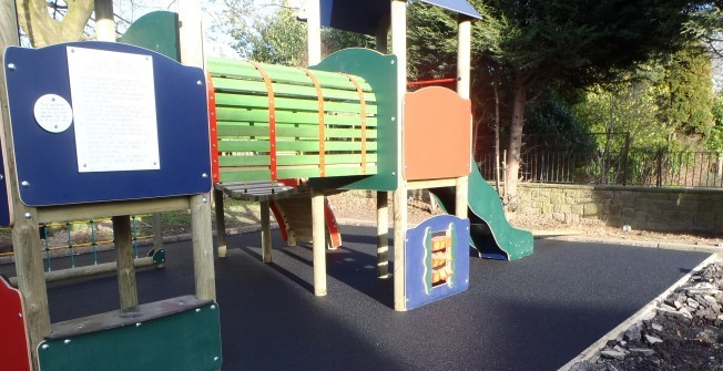 School Climbing Frames in Aaron's Hill