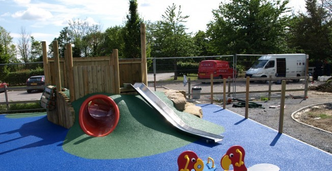 Primary School Play Equipment in Cardiff