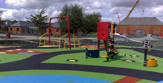 School Playground Construction in Monmouthshire