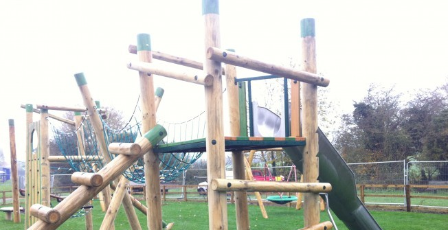 Play Equipment Flooring in Aberlady