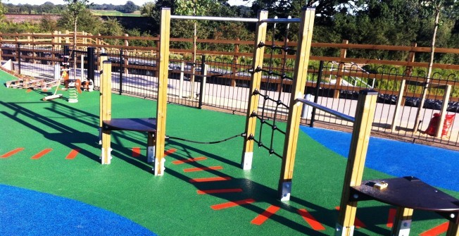 Playground Fitness Trail in Newtownabbey