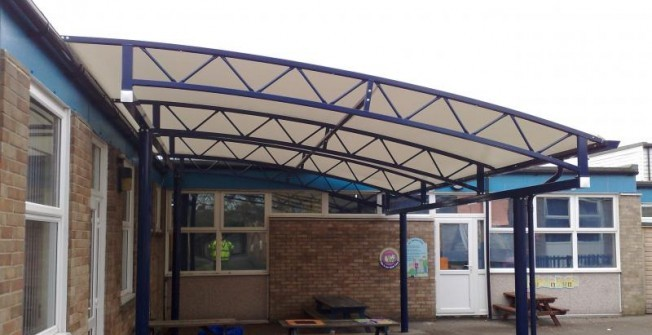 Playground Canopy Shelters in Suffolk