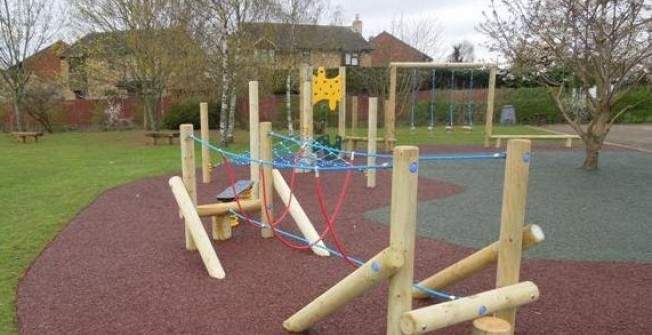 Children's Play Structures in Asney