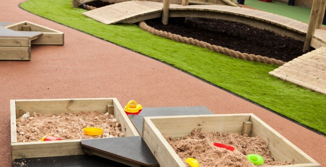 Sand Play Equipment in Lancashire