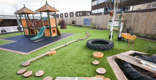 School Play Equipment in Abberton