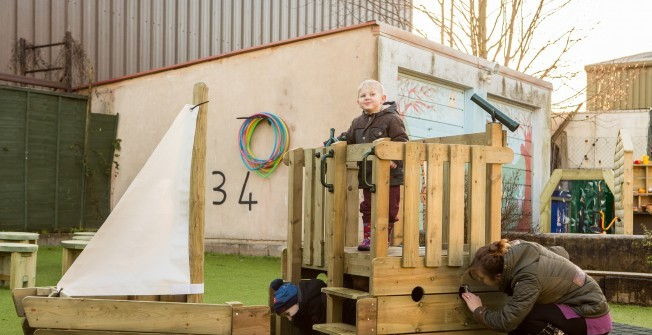 Imaginative School Play Features in Albourne Green