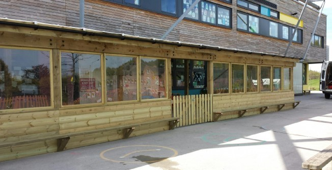 Timber Learning Area in Abbas Combe