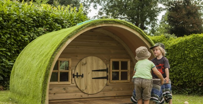 Wooden Play Cabins